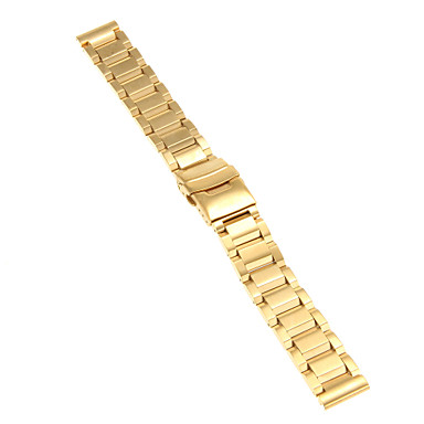Erkek Kadın Saat Kordonları Paslanmaz Çelik #(0.09) #(20 x 2 x 0.3) Saat Aksesuarları