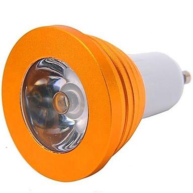YWXLIGHT® 200-300 lm GU10 LED Spot Işıkları 1 led Yüksek Güçlü LED Uzaktan Kumandalı RGB AC 85-265V
