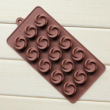coacere Mold Floare Gheață Ciocolatiu Tort Silicon Ecologic Reparații Măsurătoare