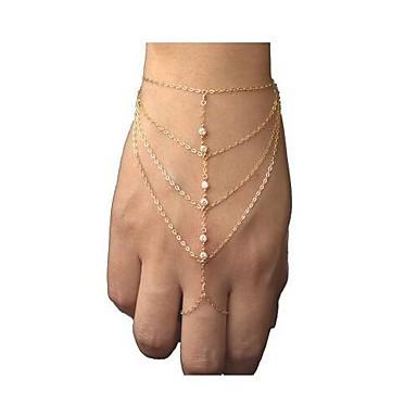 Pentru femei Ștras Ring Bracelets - Modă stil minimalist European Bijuterii Brățări Pentru Cadouri de Crăciun Petrecere Zilnic