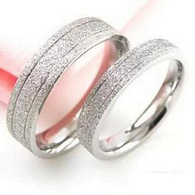 Pentru femei Inele Cuplu Modă Oțel titan Bijuterii Nuntă Petrecere Zilnic Casual