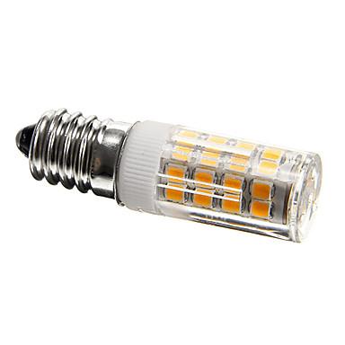 1 buc Becuri LED Corn 300-350 lm E14 T 51 LED-uri de margele SMD 2835 Decorativ Alb Cald Alb Rece 220-240 V