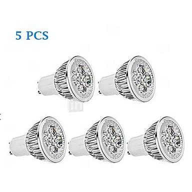 350-400 lm GU10 LED Spot Lampen MR16 1 Leds Hochleistungs - LED Abblendbar Warmes Weiß Kühles Weiß Wechselstrom 220-240V