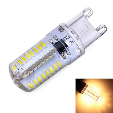 G9 3 W 64 SMD 3014 180 LM Alb Cald/Alb Rece Bulb Corn AC 220-240/AC 110 - 130 V