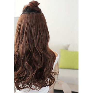 Hair Extension Classic 1(The Picture's Color is Chestnut Brown.) Classic Daily High Quality
