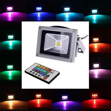 4 W 450-700 lm LED Προβολείς 1 leds Ενσωματωμένο LED Τηλεχειριζόμενο RGB AC 85-265V