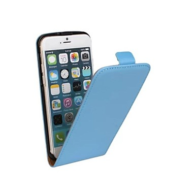 스탠드 카드 슬롯과 아이폰 6 4.7 fashion® 심플한 스타일 정품 가죽 플립 케이스 (모듬 된 색상)