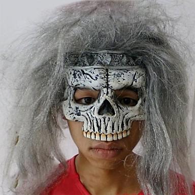 βασιλιάς της μάσκα σκελετού λατέξ για αποκριές