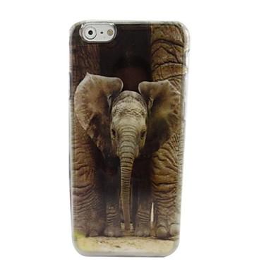 Para Capinha iPhone 6 Capinha iPhone 6 Plus Case Tampa Estampada Capa Traseira Capinha Elefante Rígida PC paraiPhone 6s Plus iPhone 6