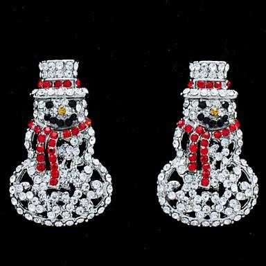 Σκουλαρίκι Κρεμαστά Σκουλαρίκια Κοσμήματα Πάρτι / Καθημερινά Κράμα / Στρας Διάφανο