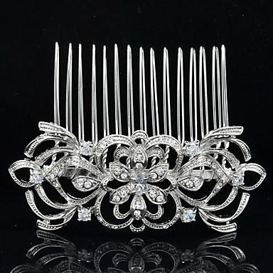 8,2 centímetros de jóias de noiva lindo pente de cabelo tiara para festa