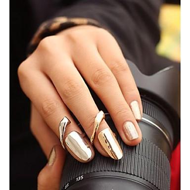 Pentru femei Band Ring Argintiu Auriu Aliaj Modă Petrecere Zilnic Costum de bijuterii