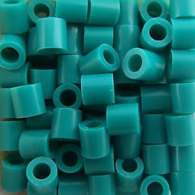 aprox 500pcs / saco de 5 milímetros lago azul fusíveis contas hama contas diy-cabeça eva safty material para crianças artesanato