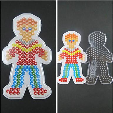 1pcs πρότυπο σαφείς χάντρες ασφάλεια pegboard αγόρι μοτίβο γιο για 5 χιλιοστά χάντρες hama diy παζλ