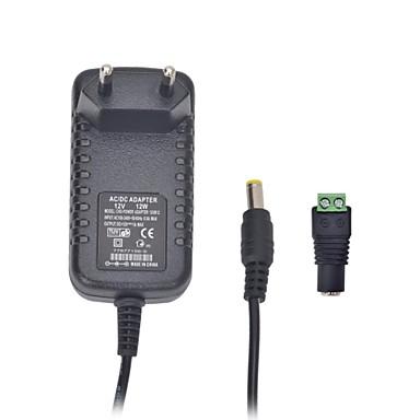 xinyuanyang® 12w 12v led ampul ve gözetim güvenlik kamera 1a ab fiş AC güç adaptörü (100 ~ 240v)