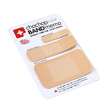 band-aid scrapbooking em forma de auto-stick nota