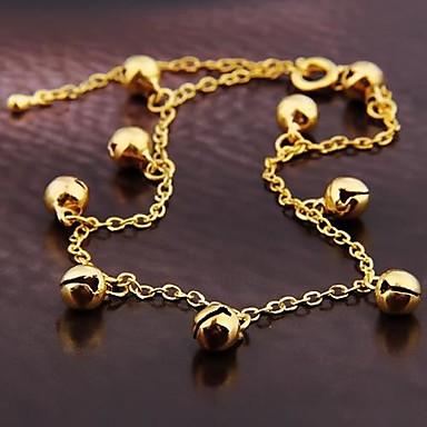 stil coreean aliaj de moda clopot brățară de aur (1 buc)