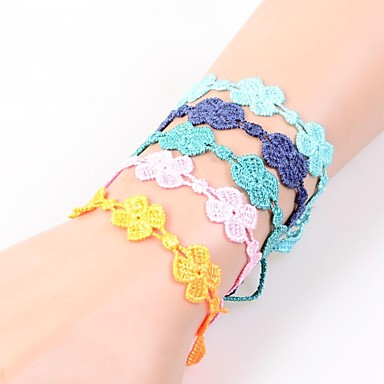 Women's Friendship Bracelets Lace Jewelry Wedding Party Daily Casual
