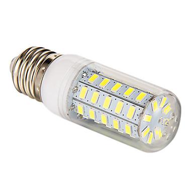 3.5W 300-350lm E26 / E27 LED Mais-Birnen T 48 LED-Perlen SMD 5730 Natürliches Weiß 220-240V