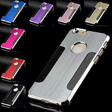 de metal design especial escovado caso difícil para iphone 6 (cores sortidas)
