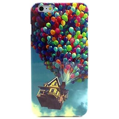 padrão balão colorido TPU macio para iphone 6