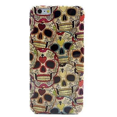 Pentru Carcasă iPhone 6 / Carcasă iPhone 6 Plus Model Maska Carcasă Spate Maska Craniu Moale TPU iPhone 6s Plus/6 Plus / iPhone 6s/6