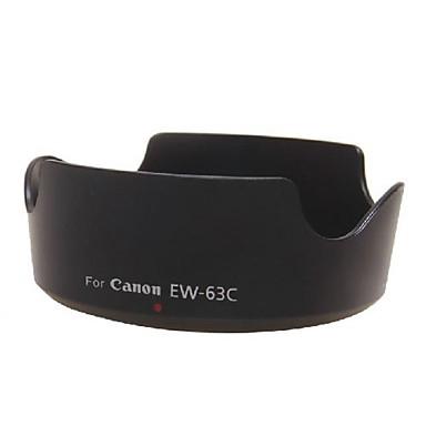 dengpin® ew-63c cobertura da lente reversível para Canon EF 18-55mm s-f / 3.5-5.6 IS STM 700d 100d x7i lente 18-55 stm