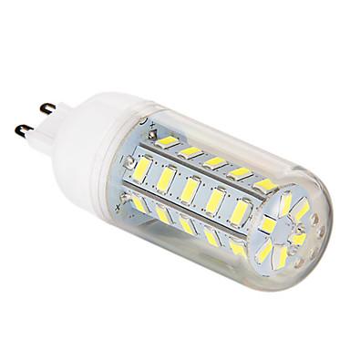 G9 LED Λάμπες Καλαμπόκι T 36 leds SMD 5730 Φυσικό Λευκό 700lm 6000-6500K AC 220-240V