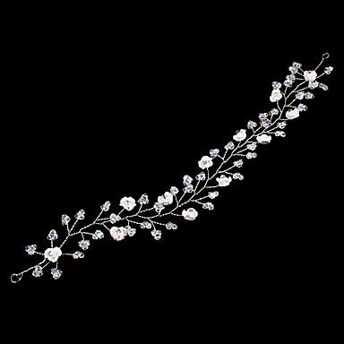Reçine / alaşım Çiçek  -  Headbands / Başlık / Baş Zinciri 1pc Düğün / Özel Anlar Başlık