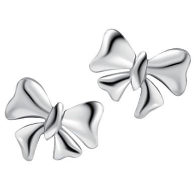 edlen Schmuck 925 Sterling Silber-Ohrring-Bolzen 1 Paar