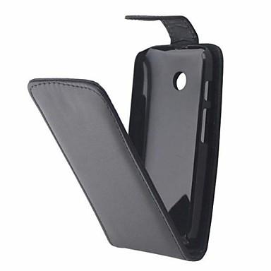 Voor Motorola hoesje Flip hoesje Volledige behuizing hoesje Effen kleur Hard PU-leer Motorola