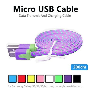 Micro USB 2.0 Normal Kabel für Für PVC