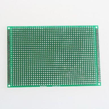 ίνες γυαλιού πλακέτα πρωτότυπο πίνακα διπλής όψης για το Arduino (8 x 12cm)