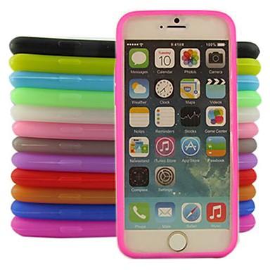 jelly siliconen hoesje voor iPhone 6s 6 plus
