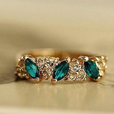 Anéis Fashion Pesta Jóias Liga Feminino Anéis Grossos 1pç,Tamanho Único Dourado