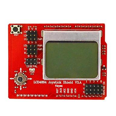 lcd placa de expansão 4884 roqueiro Keyes - vermelho + preto