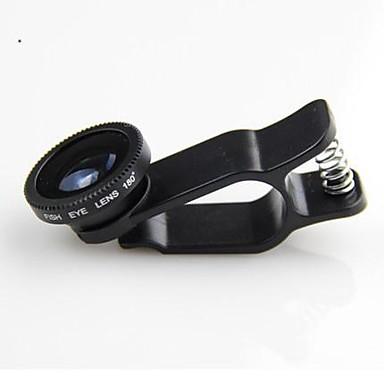 1 geniş açı objektif / makro objektif / 180 balık gözü lens / kit KLW 3 iphone 5/6 / ipad ve diğerleri için belirlenen