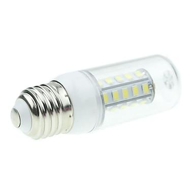 SENCART 5W 450-500lm E26 / E27 LED Mısır Işıklar T 36 LED Boncuklar SMD 5730 Doğal Beyaz 12V