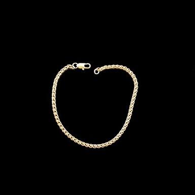 Dames Armbanden met ketting en sluiting Koper Sieraden Bruiloft Feest Dagelijks Causaal Sport Kostuum juwelen Gouden