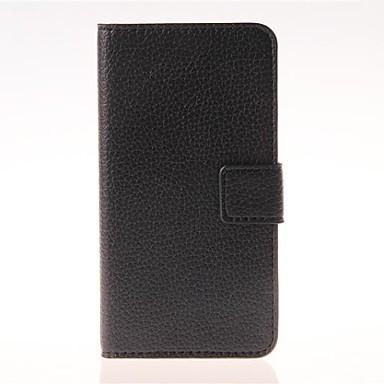 Pentru Samsung Galaxy Carcasă Titluar Card / Cu Stand / Întoarce / Magnetic Maska Corp Plin Maska Culoare solida PU piele Samsung A3