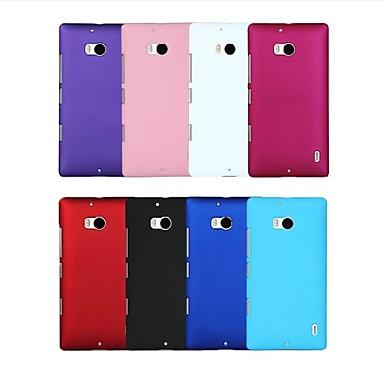 Para Capinha Nokia Antichoque Capinha Capa Traseira Capinha Cor Única Rígida PC Nokia Nokia Lumia 930