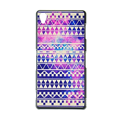 fitin® bohemian stijl patroon plastic Hard Case voor Sony Xperia z3