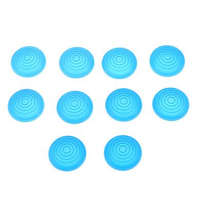 10pcs tampas de silicone para PS4 / PS3 / PS2 / xboxone / controlador xbox360