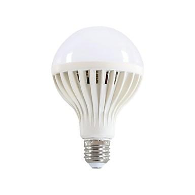 E26/E27 Lâmpada Redonda LED 20 leds SMD 5730 Branco Quente 450lm 3200K AC 220-240V