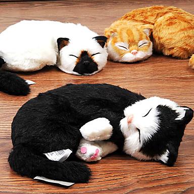 billige Hundeleker-emulational katt formet plysj leketøy for katter (assortert farge)