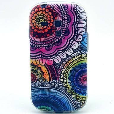 Για Samsung Galaxy Θήκη Με σχέδια tok Πίσω Κάλυμμα tok Λουλούδι TPU Samsung S3 Mini