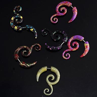 Pentru femei Bijuterii de corp Piercing Ureche Modă / Plin de Culoare Teak Costum de bijuterii Pentru Cadouri de Crăciun / Zilnic / Casual 4.0*2.7*4.0 cm Vară