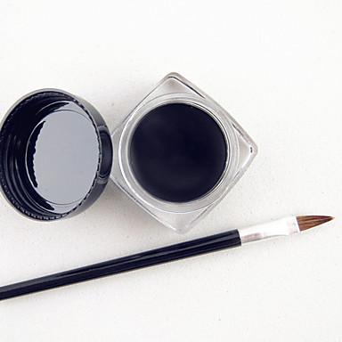 Eyelinerlar Krem Doğal Su Geçirmez Siyah Solmaya Eyes 1