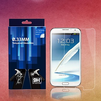 0,33 mm screen protectors voor samsung galaxy note 2 n7100