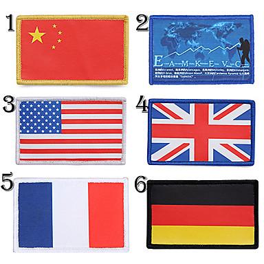 Ulusal bayrağı logosu kol yama (çeşitli ülkeler)